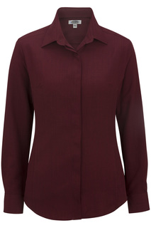 Edwards Shirts, Blouses, Polos & Camps Hospitality And Restaurant Shirts Edwards Ladies Batiste Cafe Shirt-Edwards