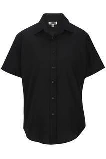 Edwards Ladies Short Sleeve Value Broadcloth Shirt-Edwards