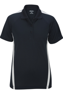 Edwards Ladies Snag-Proof Color Block Short Sleeve Polo-Edwards