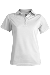 Edwards Ladies Hi-Performance Mesh Short Sleeve Polo-Edwards