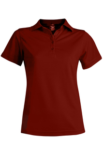 Edwards Hospitality Shirts, Blouses, Polos & Camps Ladies Hi-Performance Mesh Short Sleeve Polo-Edwards
