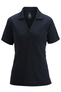 Edwards Ladies Hi-Performance Mesh Polo With Johnny Collar-
