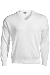 Edwards V-Neck Acrylic Sweater-Edwards