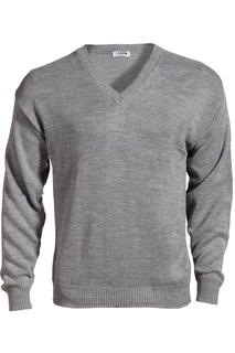 Edwards V-Neck Acrylic Sweater-