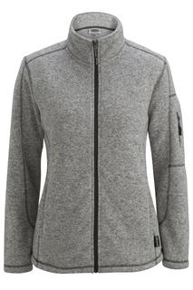 Edwards Ladies Sweater Knit Fleece Jacket-Edwards