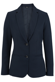 Edwards New Products for Hospitality Ladies Synergy Washable Suit Coat - Longer Length-Edwards
