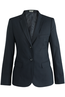 Edwards Hospitality Suits Ladies Single Breasted Poly/Wool Suit Coat-Edwards