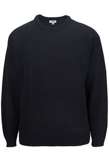 Edwards Crew Neck Acrylic Sweater-Edwards