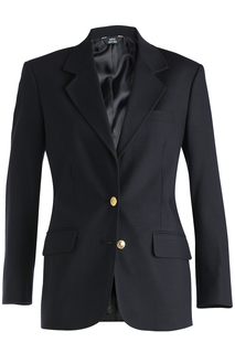 Edwards Ladies Hopsack Blazer-