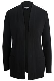 Edwards Ladies Open Cardigan Acrylic Sweater