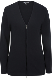 Edwards Ladies Full Zip V-Neck Cardigan Sweater-