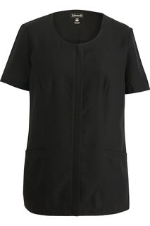 Edwards Ladies Scoop Neck Spun Poly Tunic-Edwards