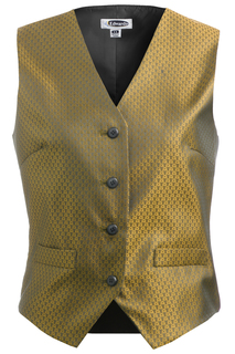 Edwards Ladies Diamond Brocade Vest-