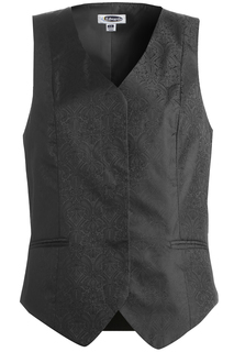 Edwards Ladies Paisley Brocade Vest
