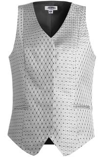 Edwards Ladies Diamond & Dots Brocade Vest
