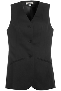 Edwards Front of the House wear for Hospitality & Corporate- 7551 Womens Tunic Vest-Edwards