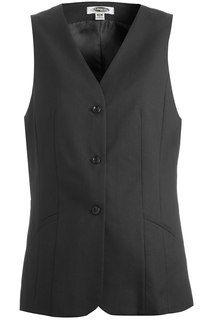 Edwards Front of the House wear for Hospitality & Corporate- 7575 Womens Washable Tunic Vest-Edwards