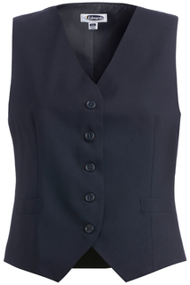 7680 Edwards Ladies High-Button Vest-Edwards