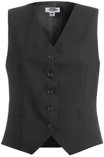 Edwards Ladies High-Button Vest-Edwards