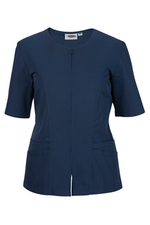 Edwards Ladies Zip-Front Smock-