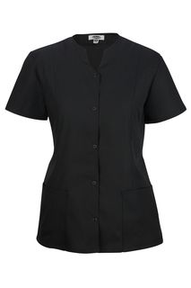 Edwards Ladies Snap-Front Smock