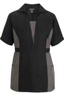 Edwards Ladies Premier V-Neck Pull Over Tunic-Edwards
