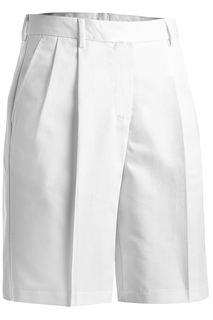 Edwards Ladies Business Casual Pleated Chino Short-Edwards
