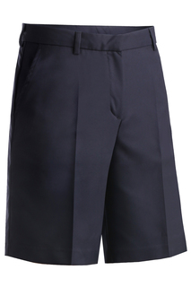 Edwards Ladies Microfiber Flat Front Short