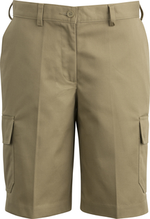 Edwards Ladies Utility Chino Cargo Short-Edwards