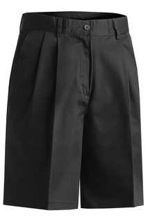 Edwards Ladies Utility Pleated Front Chino Short-Edwards