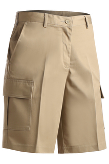 Edwards Ladies Blended Cargo Chino Short-Edwards