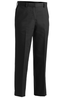 Edwards Ladies Business Casual Flat Front Chino Pant-Edwards