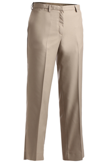 Edwards Ladies Microfiber Flat Front Pant-