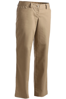 Edwards Ladies Mid-Rise Flat Front Rugged Comfort Pant-Edwards