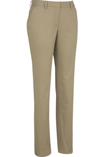 Edwards Ladies Slim Chino Flat Front Pant-Edwards