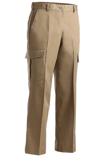 Edwards Ladies Blended Chino Cargo Pant-Edwards