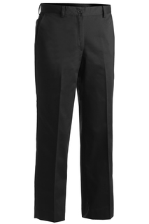 Edwards Ladies Blended Chino Flat Front Pant-Edwards
