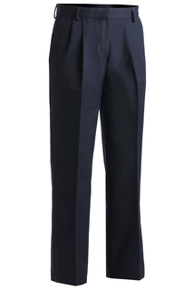 Edwards Ladies Business Casual Pleated Chino Pant