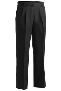 Edwards Ladies Business Casual Pleated Chino Pant-