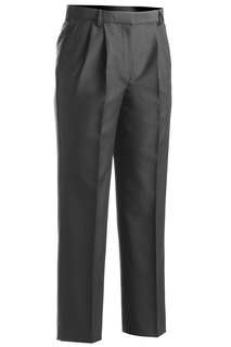 Edwards Ladies Washable Wool Blend Pleated Front Pant