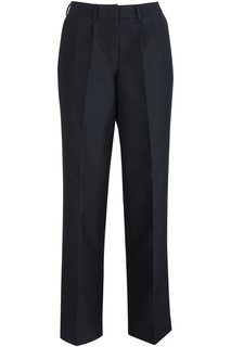 Edwards Ladies Pleated Front Poly/Wool Pant-