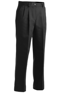 Edwards Ladies Utility Pleated Front Chino Pant-Edwards