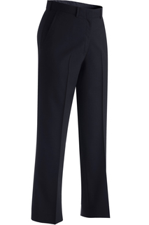 Edwards Ladies Wool Blend Flat Front Dress Pant-Edwards