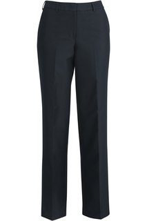 Edwards Ladies Flat Front Poly/Wool Pant-