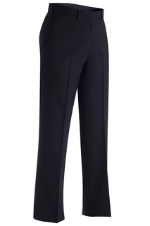 Edwards Ladies Lightweight Wool Blend Flat Front Pant-Edwards