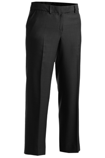 Edwards Ladies Intaglio Flat Front Pant-Edwards