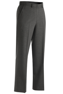 8783 Edwards Ladies Wool Blend Flat Front Dress Pant-Edwards