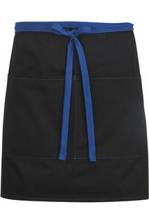 Edwards Half Bistro Apron-Color Blocked-
