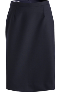 Edwards Ladies Wool Blend Straight Skirt-