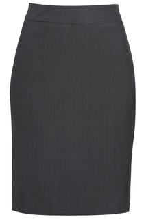 Edwards Ladies Intaglio Microfiber Straight Skirt-Edwards
